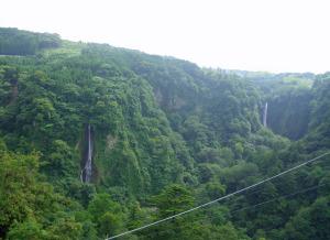 九重夢大吊橋3滝